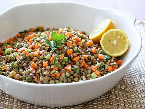 Lentil Salad Sharon Feanny Jamaica