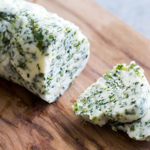 Jamaican Garlic Chive Butter EITS Cafe
