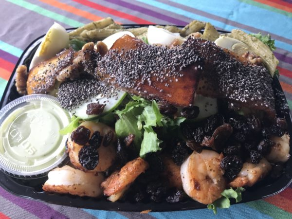 Seafood Salad Lunch Box Delivery Jamaica
