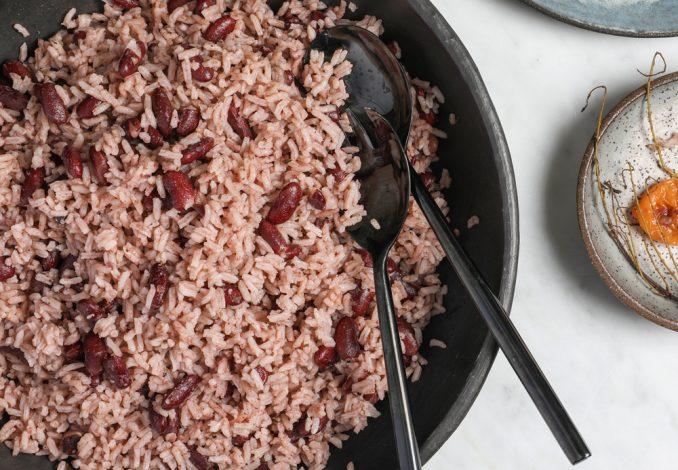 rice  peas side dish  17 mile post jamaica